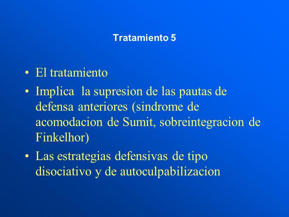 Tratamiento 5 El tratamiento.