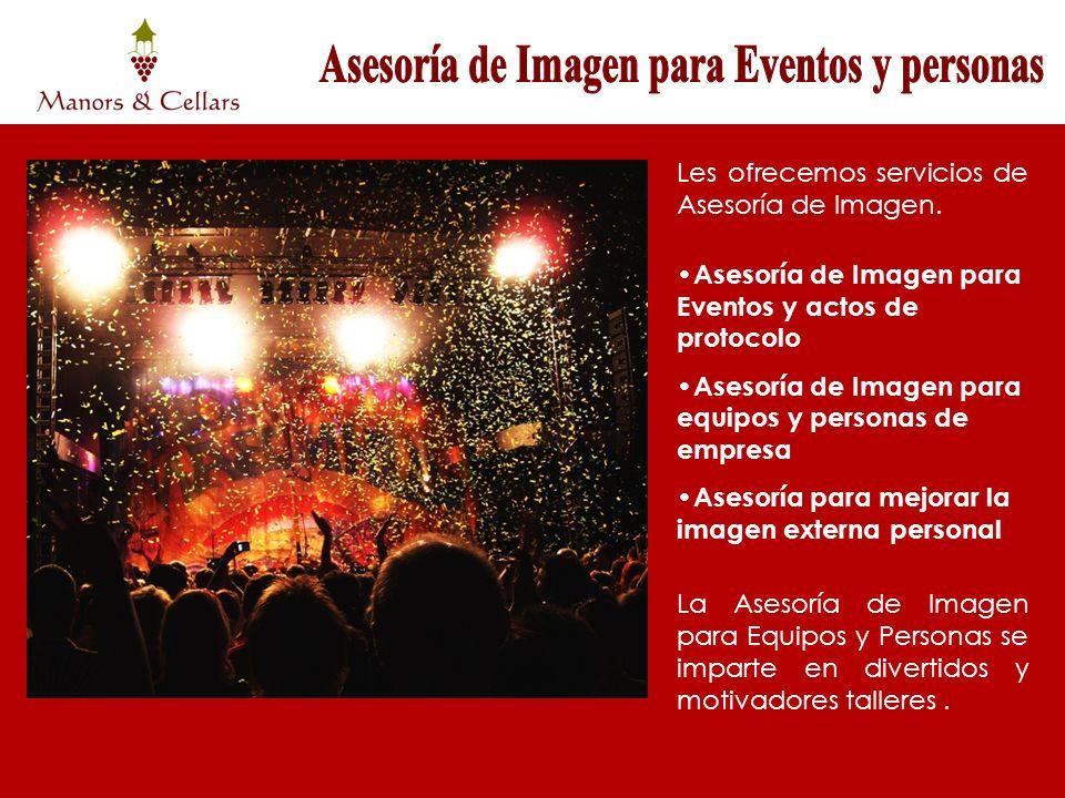 Asesoría de Imagen para Eventos y personas