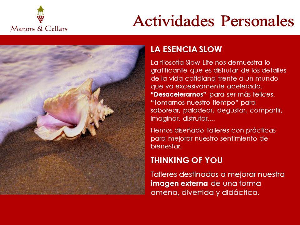 Actividades Personales