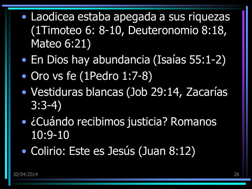 En Dios hay abundancia (Isaías 55:1-2) Oro vs fe (1Pedro 1:7-8)