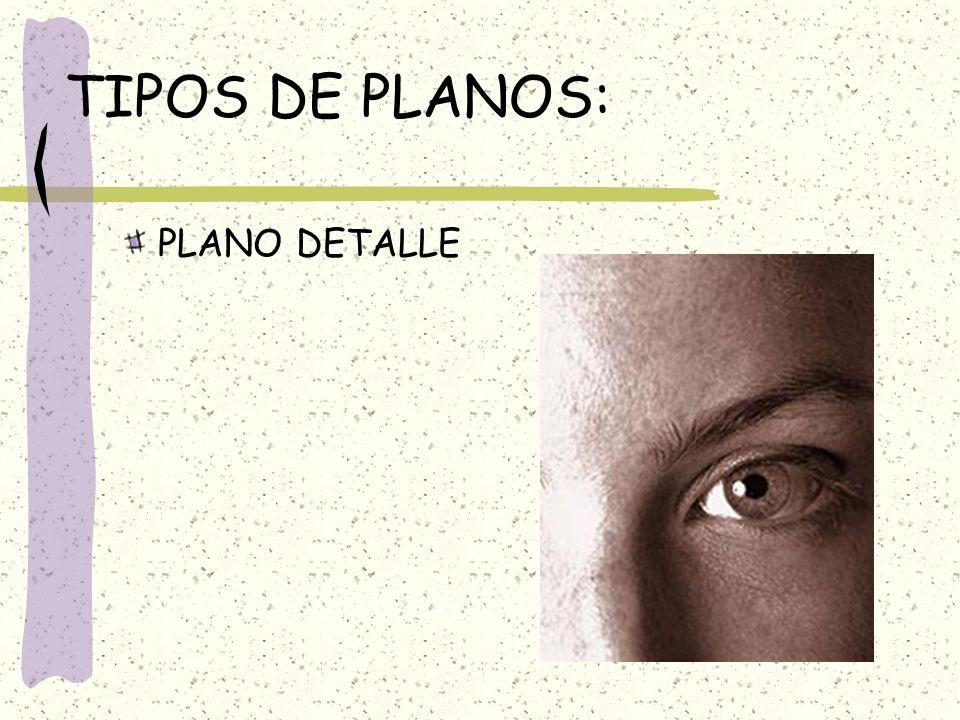 TIPOS DE PLANOS: PLANO DETALLE
