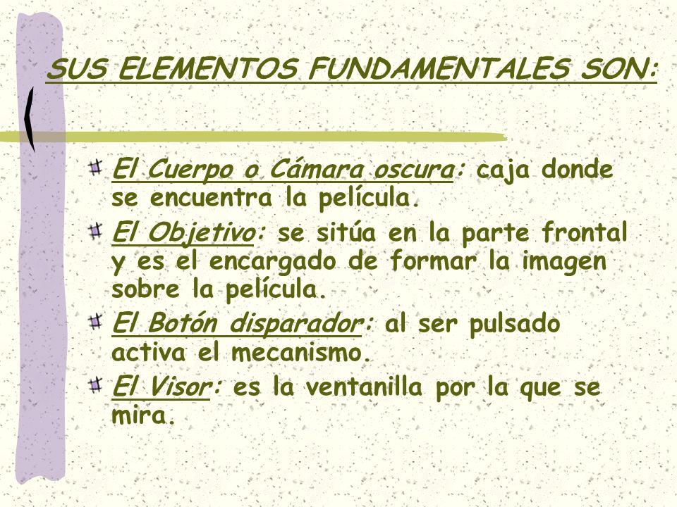 SUS ELEMENTOS FUNDAMENTALES SON: