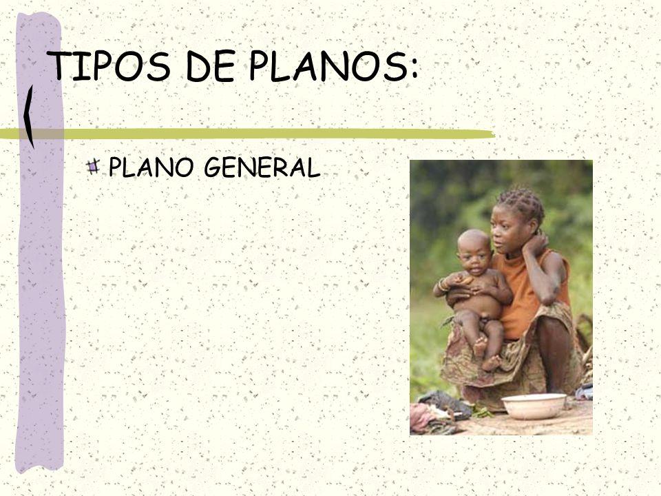 TIPOS DE PLANOS: PLANO GENERAL