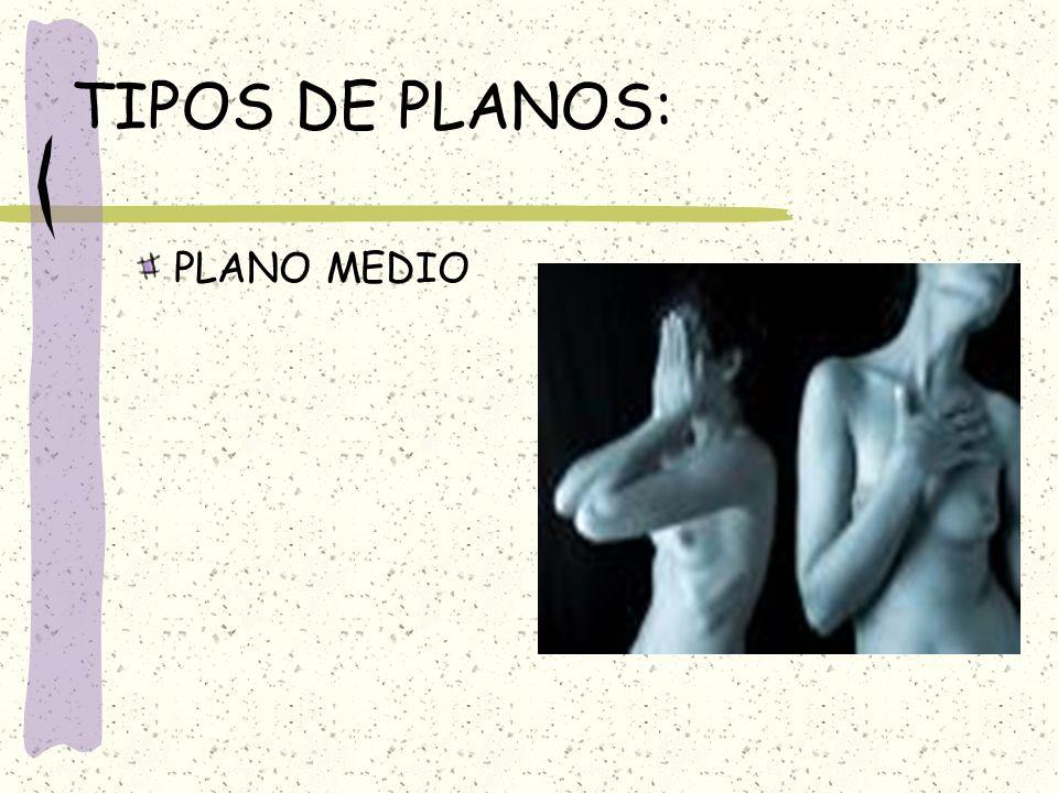 TIPOS DE PLANOS: PLANO MEDIO
