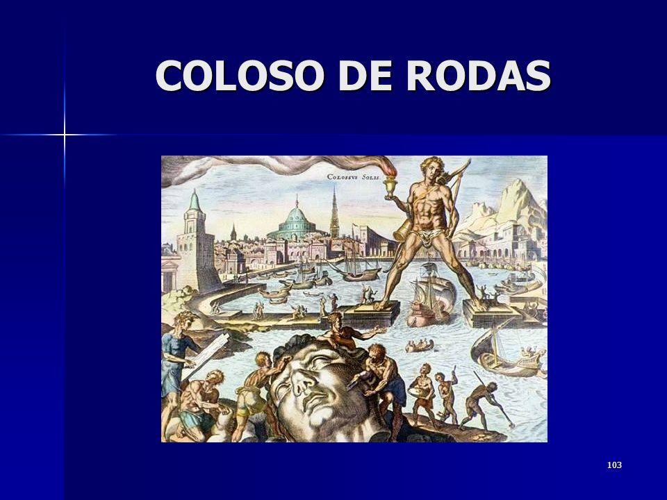 COLOSO DE RODAS
