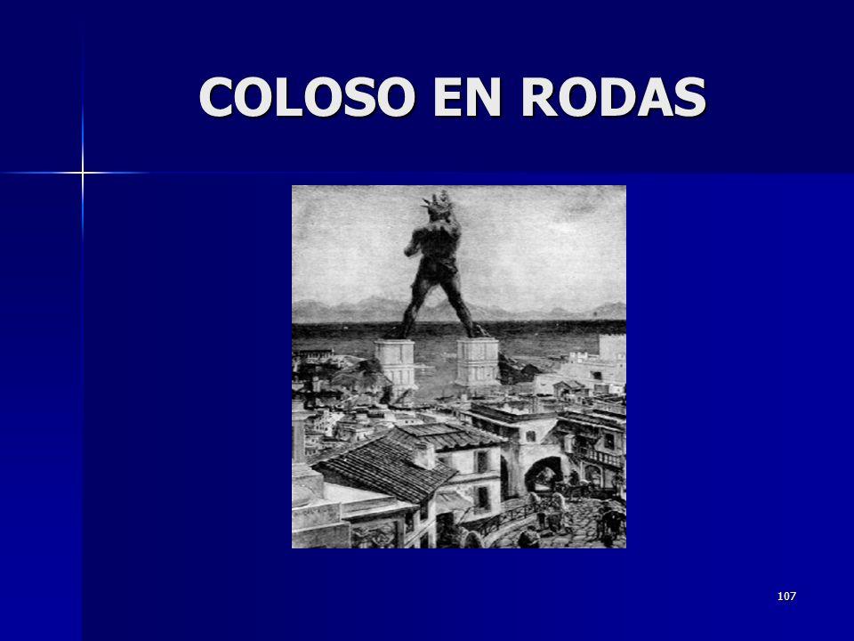 COLOSO EN RODAS