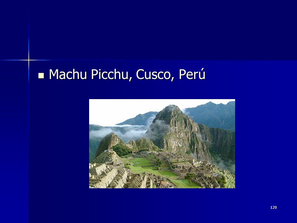 Machu Picchu, Cusco, Perú