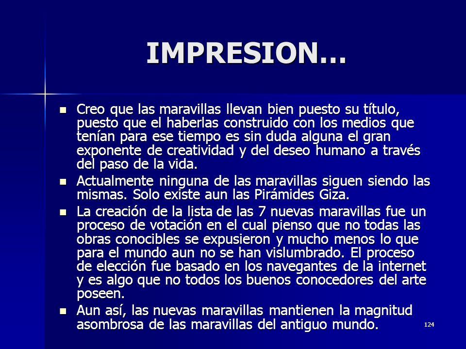 IMPRESION…