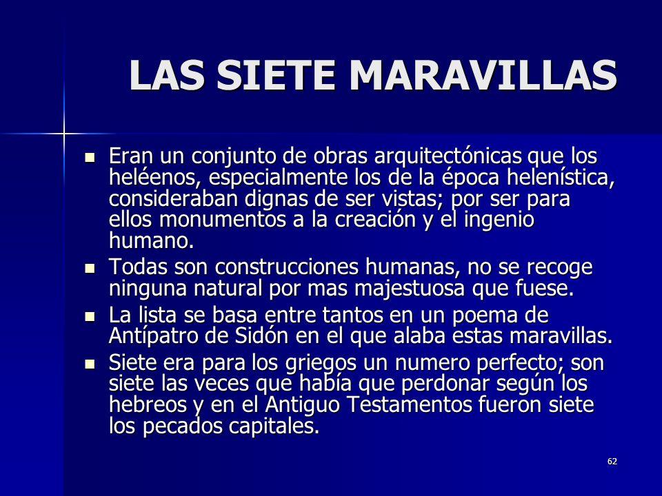 LAS SIETE MARAVILLAS