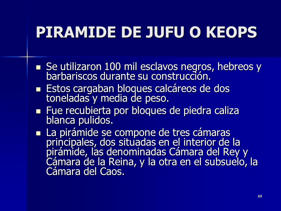 PIRAMIDE DE JUFU O KEOPS