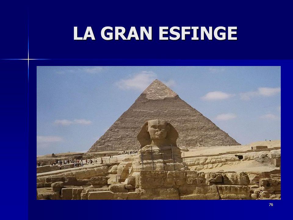 LA GRAN ESFINGE