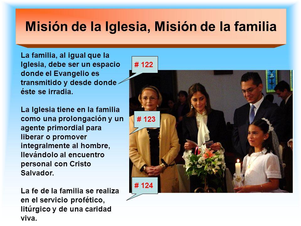 Misión de la Iglesia, Misión de la familia