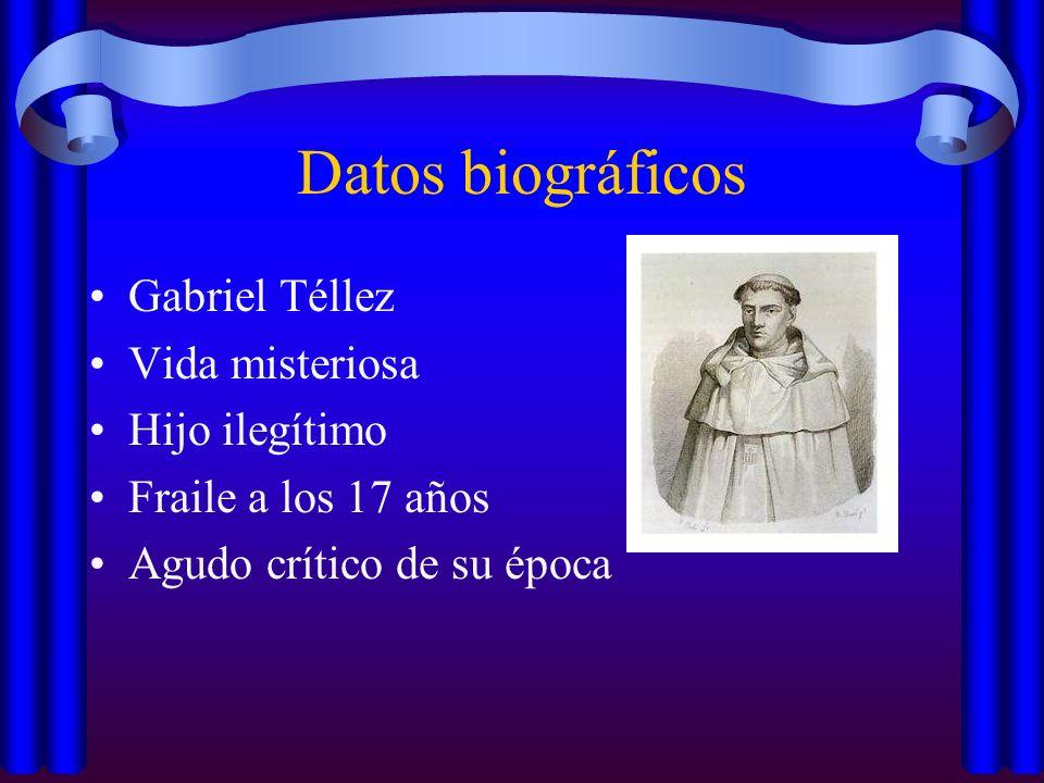 Datos biográficos Gabriel Téllez Vida misteriosa Hijo ilegítimo