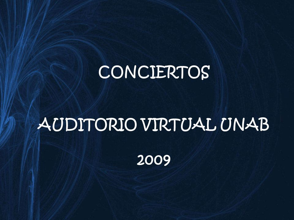 AUDITORIO VIRTUAL UNAB