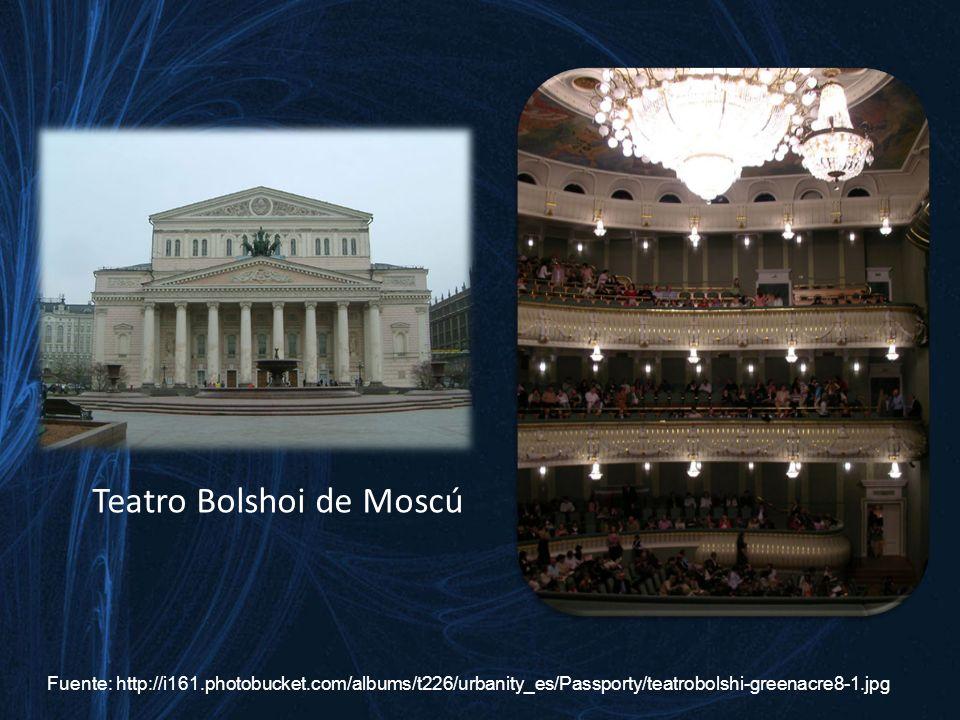 Teatro Bolshoi de Moscú