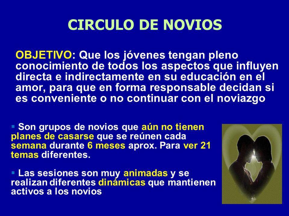 CIRCULO DE NOVIOS