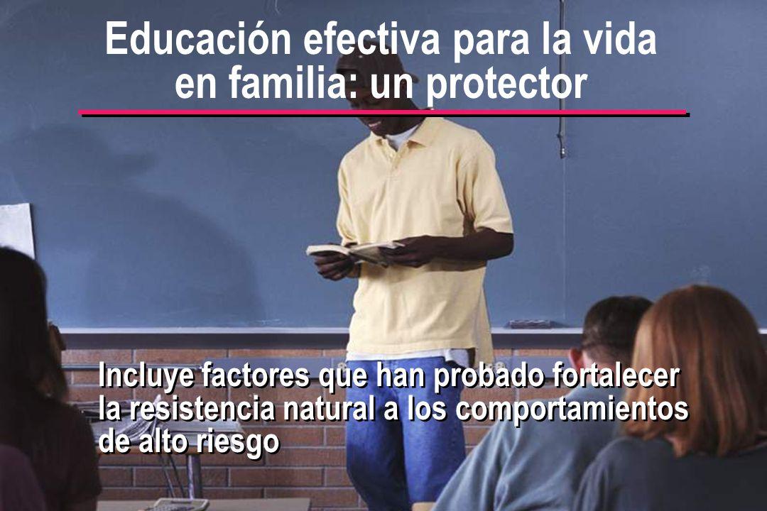 Educación efectiva para la vida en familia: un protector