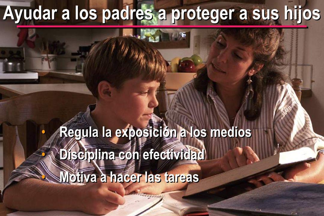 Ayudar a los padres a proteger a sus hijos