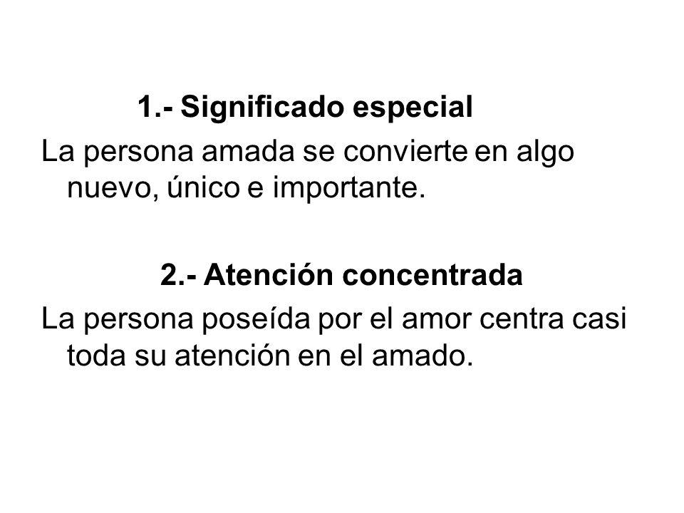 2.- Atención concentrada