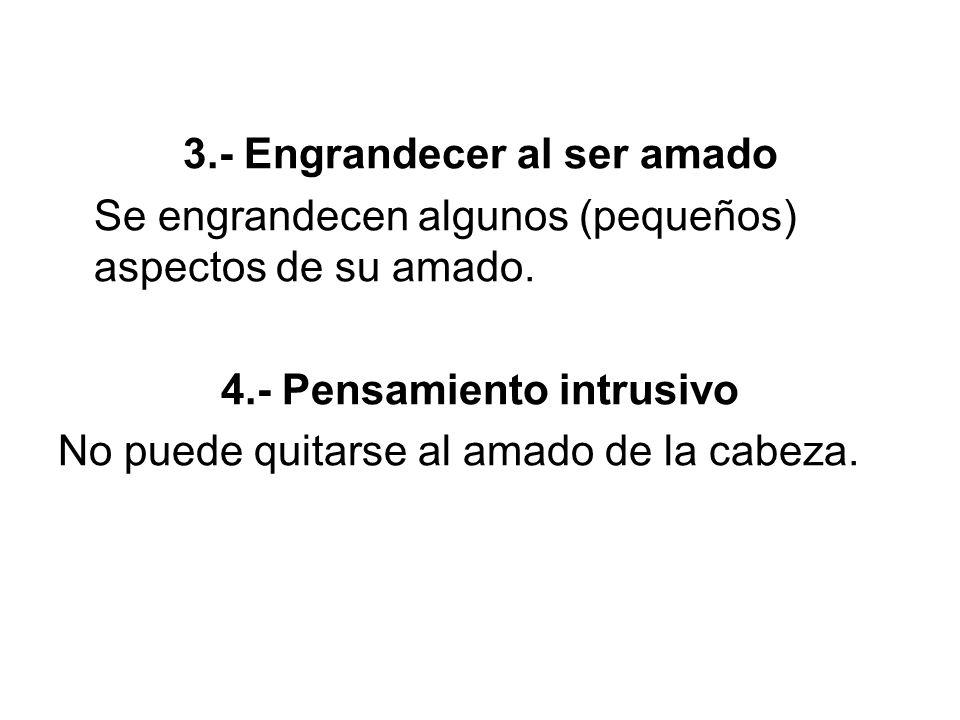 4.- Pensamiento intrusivo