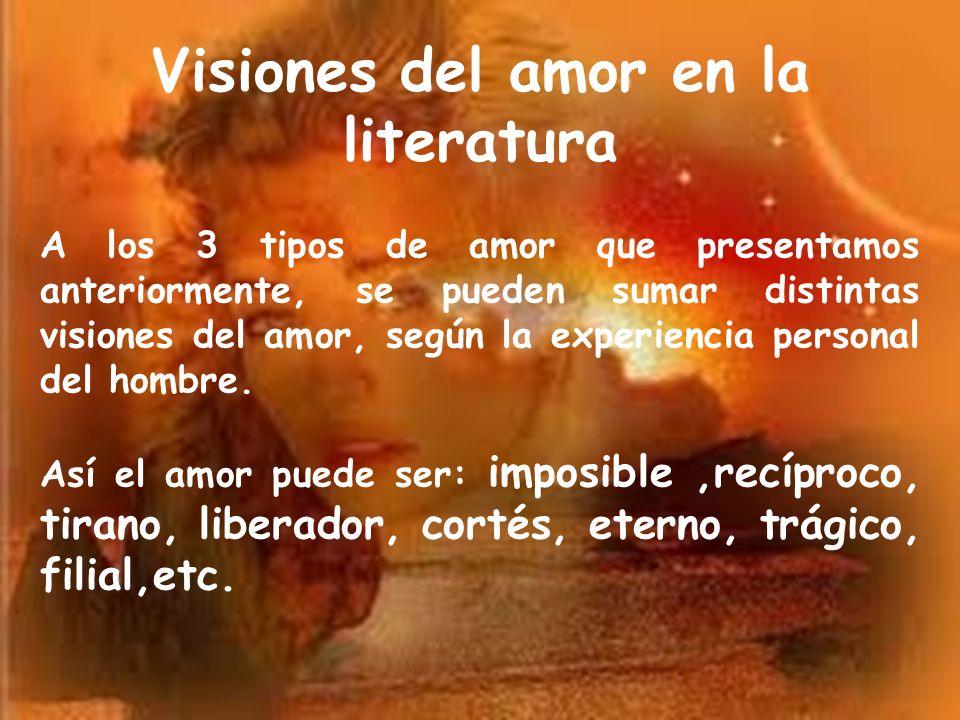 Visiones del amor en la literatura