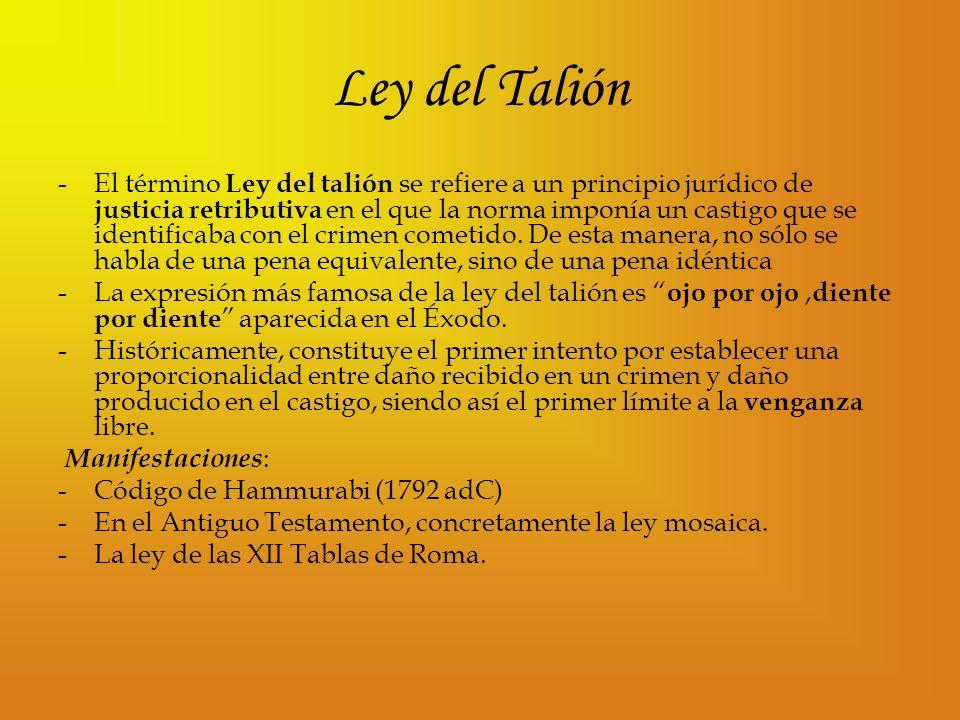 Ley del Talión