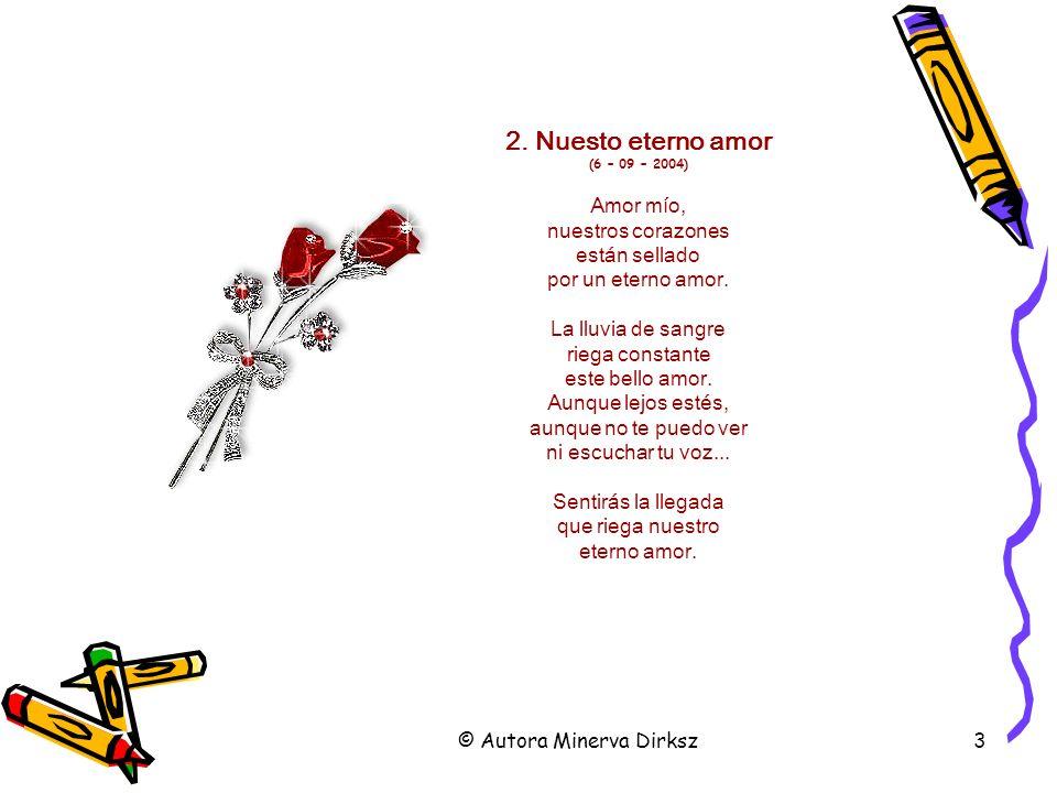2. Nuesto eterno amor (6 – 09 – 2004)