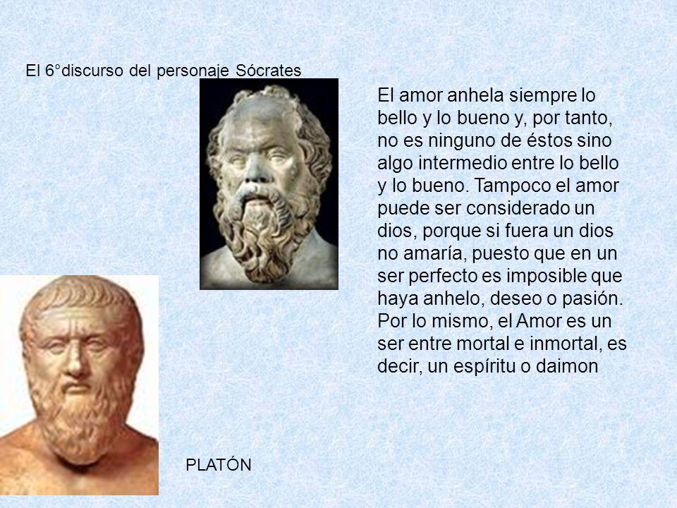 El 6°discurso del personaje Sócrates