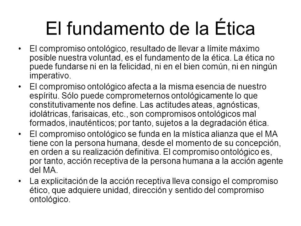 El fundamento de la Ética