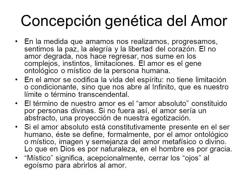 Concepción genética del Amor