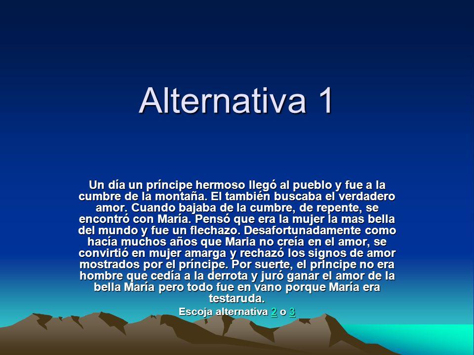 Alternativa 1
