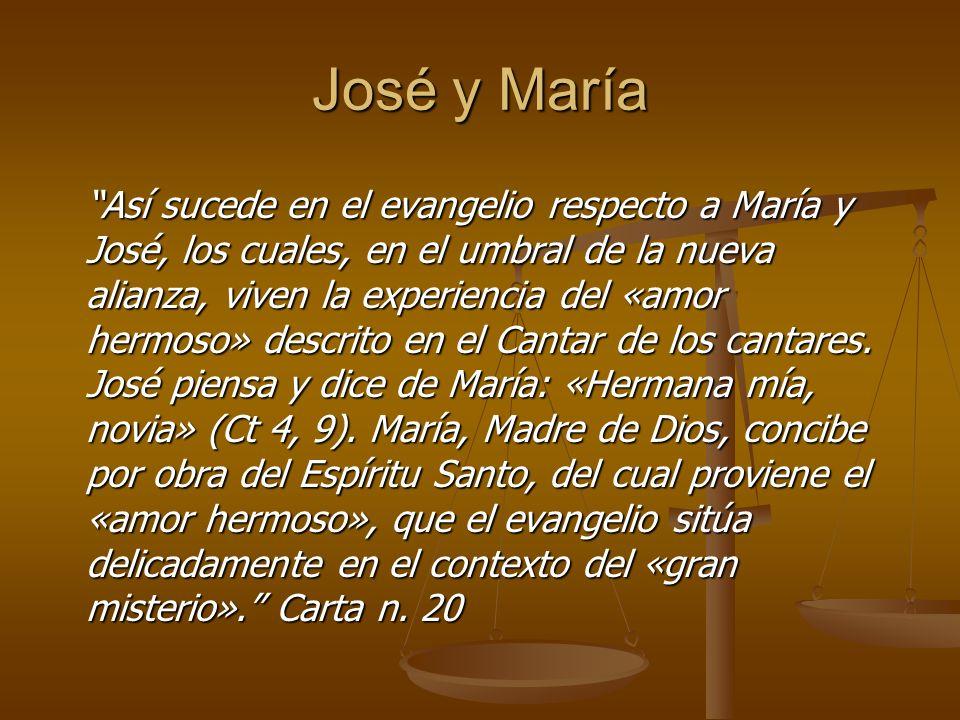 José y María
