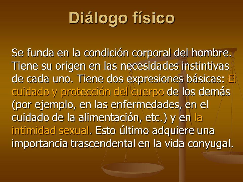 Diálogo físico