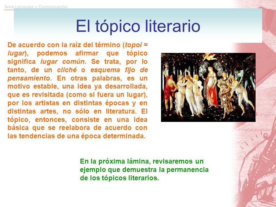 El tópico literario