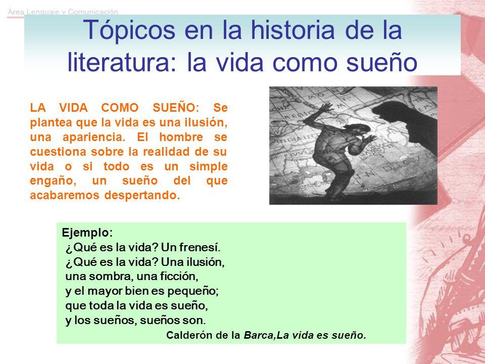 Tópicos en la historia de la literatura: la vida como sueño