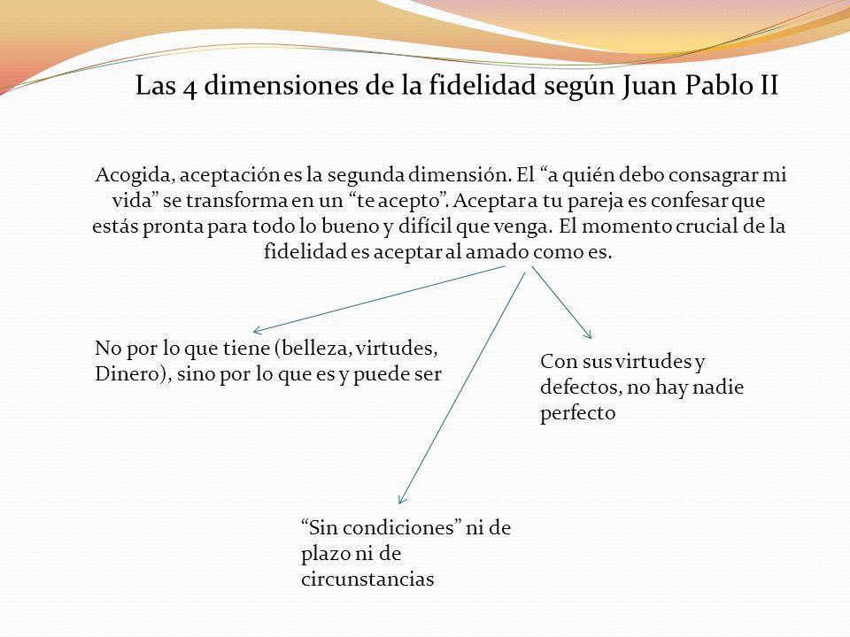 Las 4 dimensiones de la fidelidad según Juan Pablo II