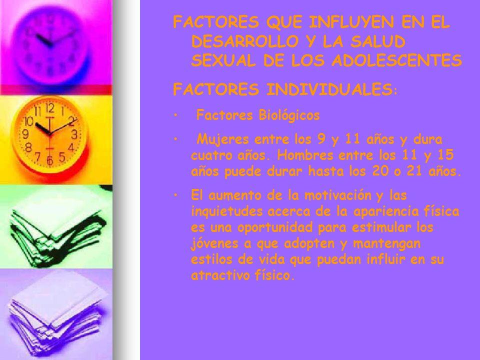 FACTORES INDIVIDUALES: