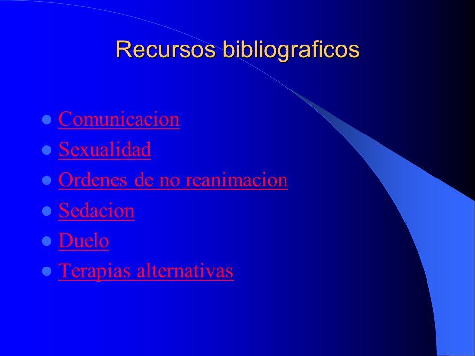 Recursos bibliograficos