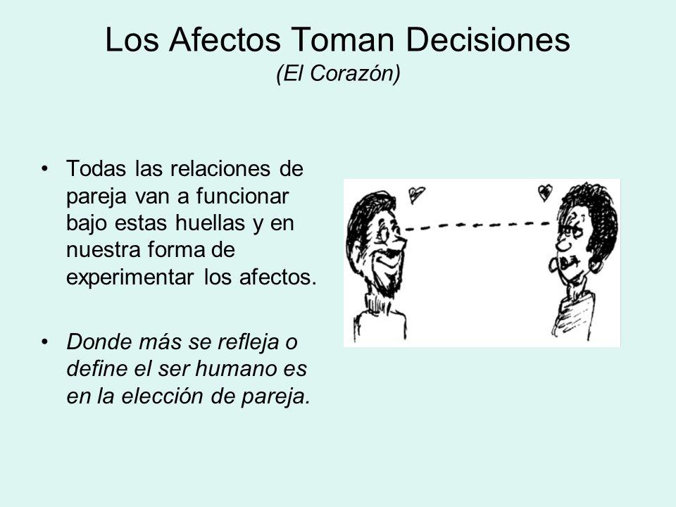 Los Afectos Toman Decisiones (El Corazón)