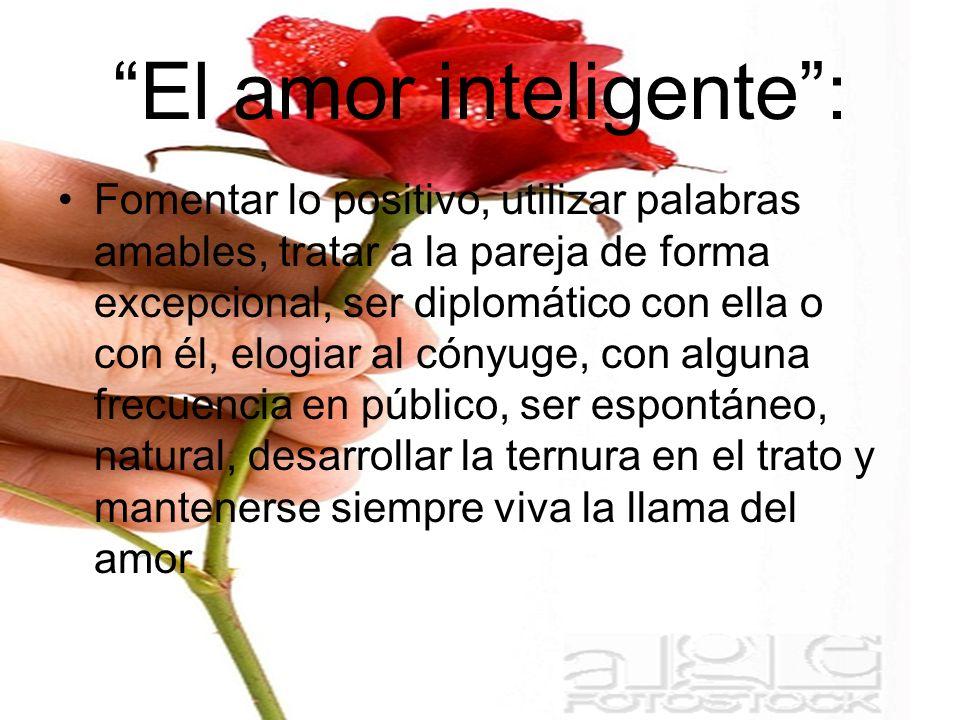 El amor inteligente :