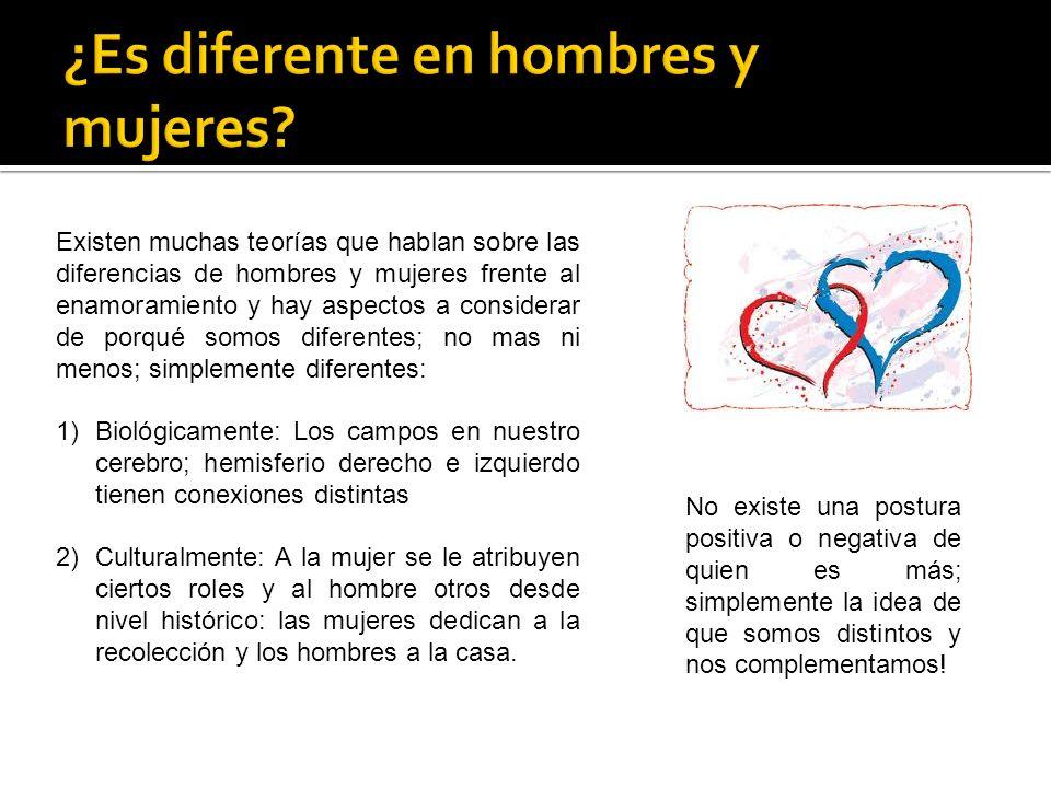¿Es diferente en hombres y mujeres