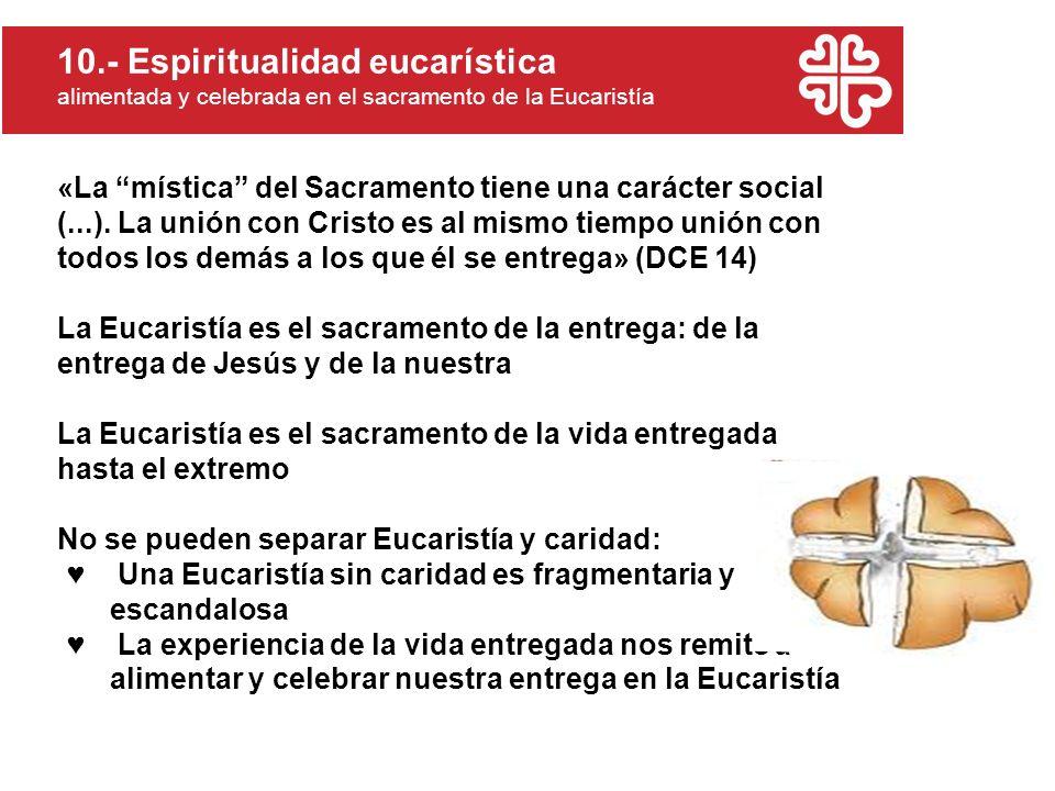 10.- Espiritualidad eucarística