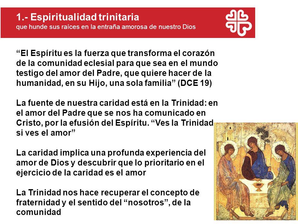 1.- Espiritualidad trinitaria