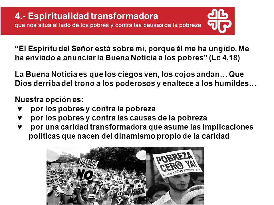 4.- Espiritualidad transformadora