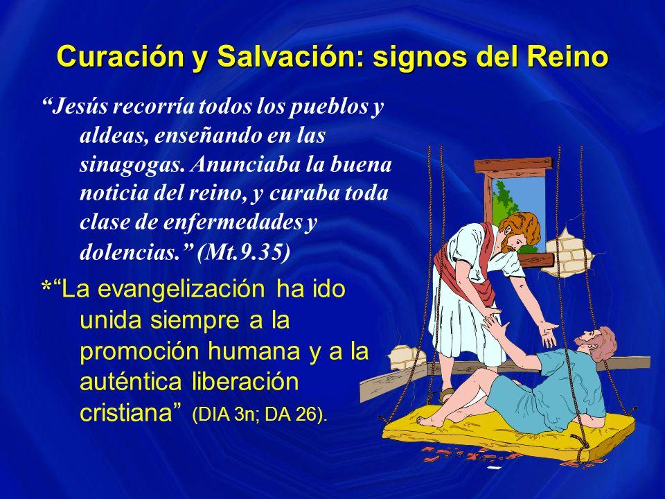 Curación y Salvación: signos del Reino