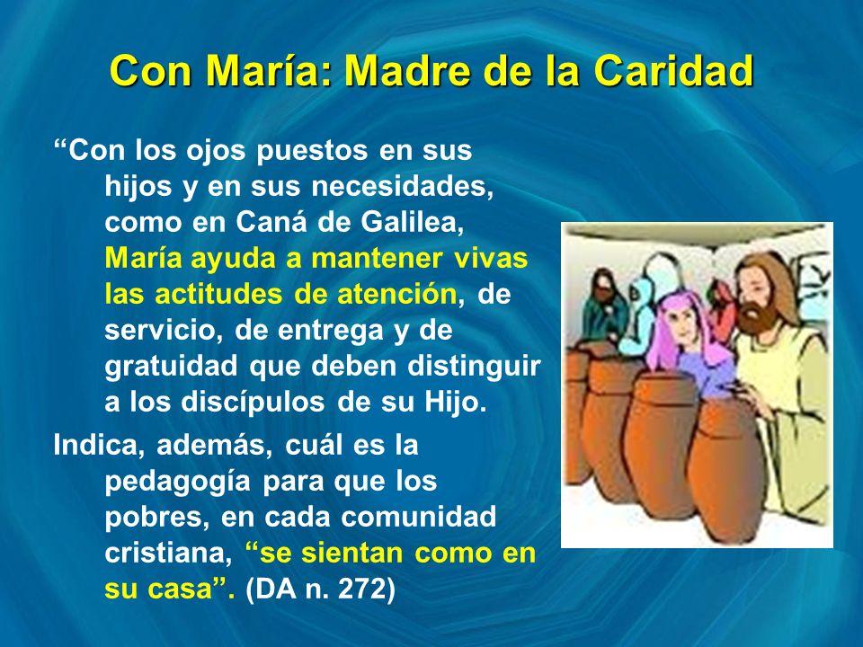 Con María: Madre de la Caridad