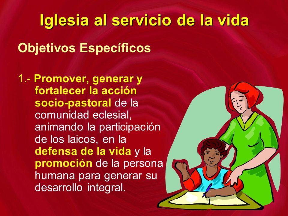 Iglesia al servicio de la vida