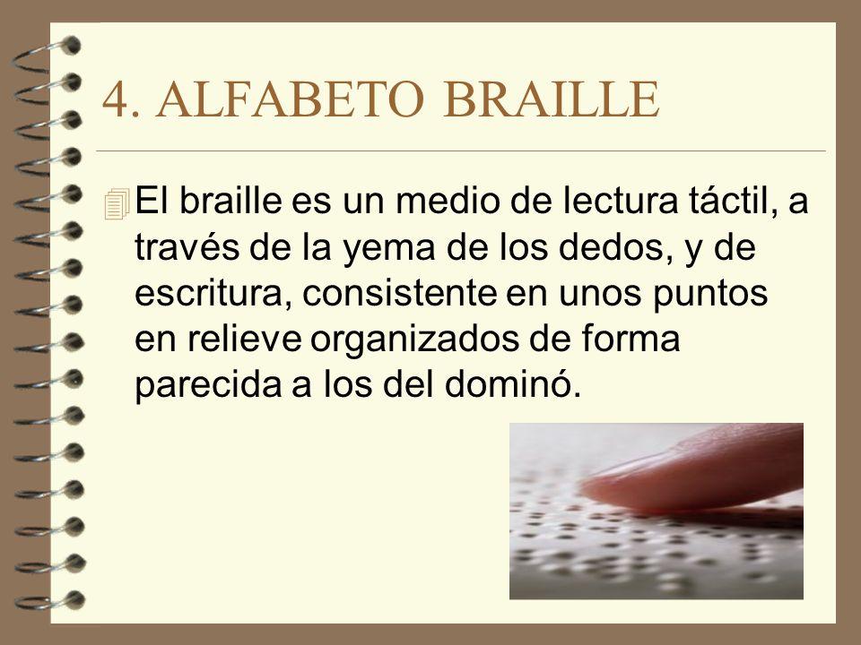 4. ALFABETO BRAILLE