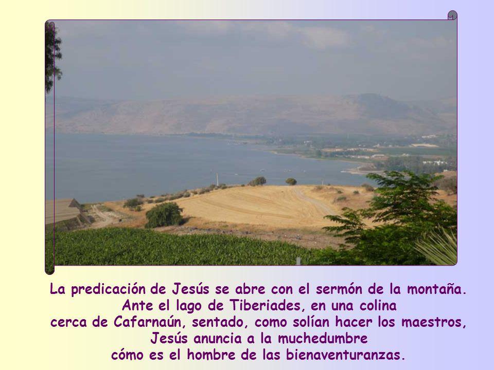 La predicación de Jesús se abre con el sermón de la montaña
