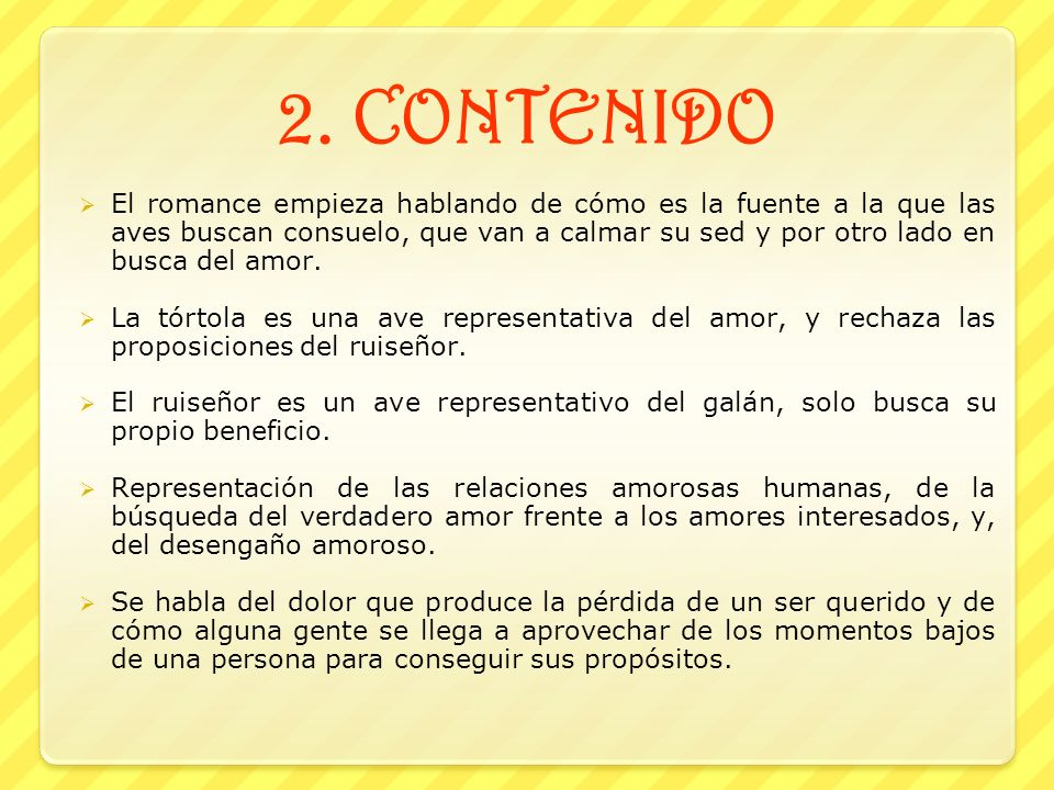 2. CONTENIDO